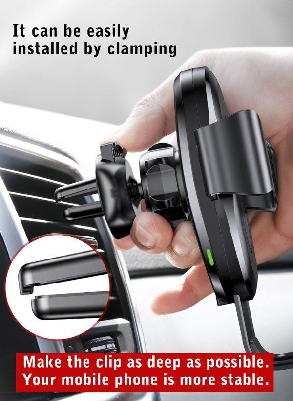 Baseus Wireless Gravity Car Mount Fast Charger