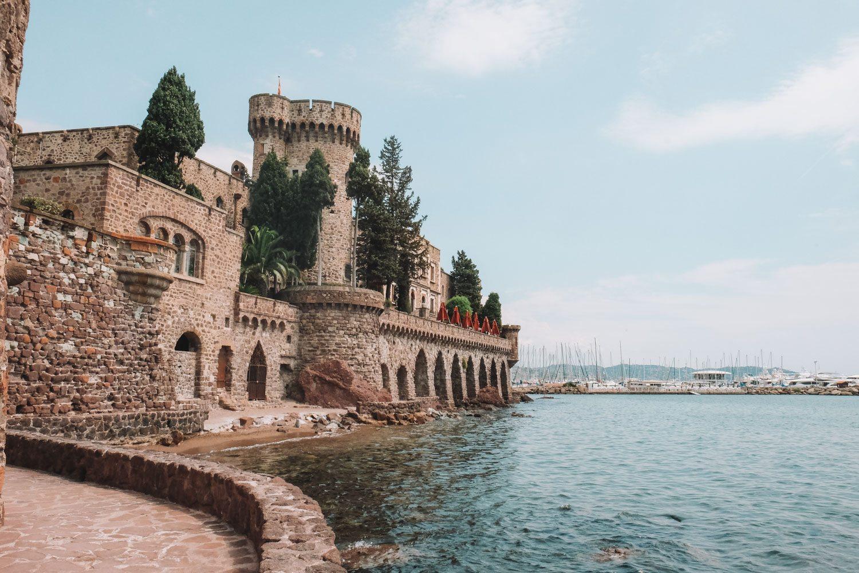 Castle on Coast of France