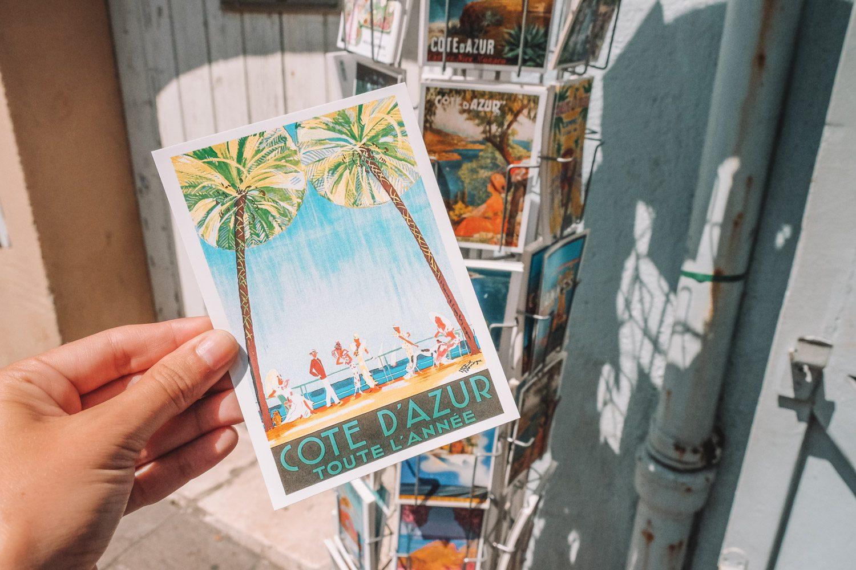 Cote d'Azur Postcard